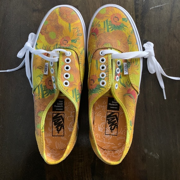 Vans Van Gogh sunflower sneakers